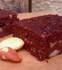 gâteau chocolat aubergine