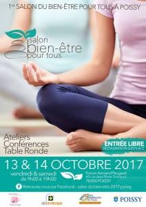salon bien-être pour tous Poissy 13 14 octobre 2017